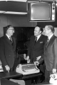 Glen L. Taggart with Robert P. Collier and Senator Frank E. Moss, late 1960s