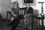 University President Glen L. Taggart with his wife Phyllis, 1960s