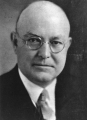 Portrait of USAC President Elmer George Peterson
