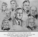 Sketch of Utah State Agricultural College's first eight presidents, 1950