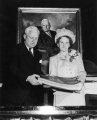 USAC President Franklin S. Harris and his wife Estelle Harris, circa 1948