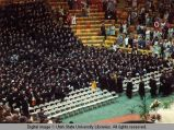 Commencement exercises in the Spectrum, 1974