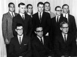 Young men in suits and ties, early 1960s