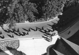 Birds-eye view of Commencement, 1960's