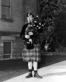 Bagpipe-playing actor from the production Brigadoon, 1961