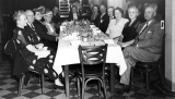 Banquet for past alumni presidents, 1940s