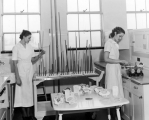 Women in food preparation class
