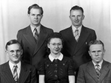 Studio group portrait, 1940s