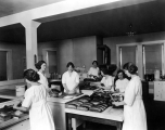 Food preservation and baking class, 1920s