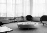 Sunburst Lounge in Student Union building, 1950s