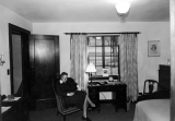 Interior of Home Management house, 1930s