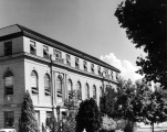 Merrill Library, facing northwest, 1950s
