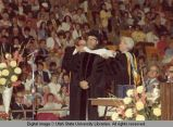 Honorary hooding of George E. Hart, 1974