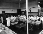 Food preparation or canning class, circa 1910