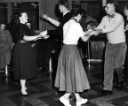 Two couples dancing, 1958-59