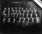 Group portrait of the Agricultural Club, 1917