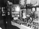 Boys' and Girls' Club exhibit, Utah State Fair, 1914