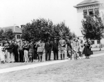 ROTC Military Inspection Day, spring 1936