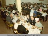 Diners at the University commencement dinner, 1960s