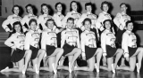 Members of the Aggiettes, 1957