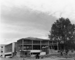 Student Union building under construction, 1952.