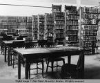 Interior of Library, circa 1905