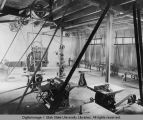 Power room in Mechanic Arts building, circa 1903