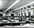 USAC Library reading room, circa 1953