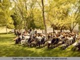 Audience at the military commencement ceremonies, 1960s
