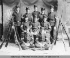 Military Cadet Corps Rifle Team, circa 1910