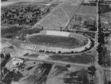 Aerial photograph of Romney Stadium