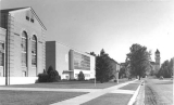 Campus view, 1954