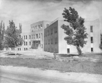 Lund Hall, just after construction, 1937