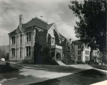 Experiment Station Building and Old Main, circa 1923