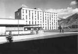 East High Rise with corner of High Rise Plaza, 1966