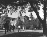 Old Main north wing, circa 1968