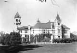Old Main south wing, circa 1926