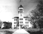 Old Main west tower, 1958