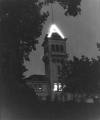 Old Main west tower, 1950s