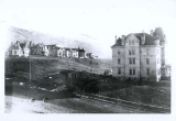 View of entire campus of Utah State University, 1902
