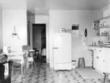 Kitchen in University Apartments, 1951