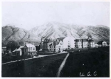 View of campus, Utah State University, 1900