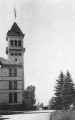 Old Main Tower from north, 1920s