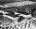 Technology Building and Quonset Hut Housing, 1949