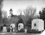Entrance Gates, USAC Campus. 1940s