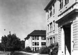 View of buildings along the Quad, circa 1935