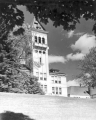 Old Main, west tower, 1950s