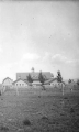 Barns for cattle and sheep on campus, 1920s
