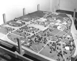 Campus Model and Master Plan, 1956