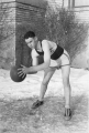 UAC basketball player, possibly Noel Bennion, circa 1927